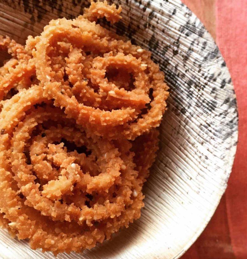Cooked Rice Murukku