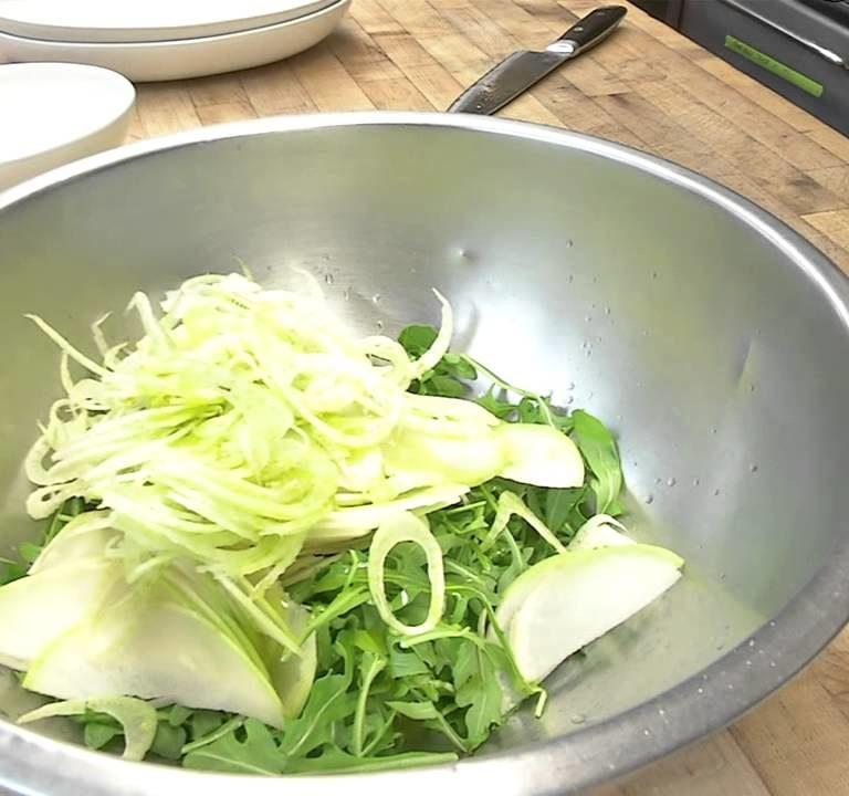 Kohlrabi Salad   Knol Khol Salad