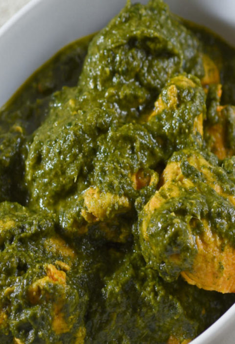 Palak Chicken Gravy