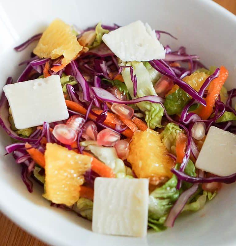 Pomegranate Carrot Salad
