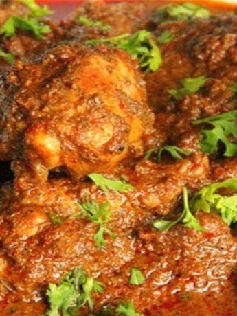 Rayalaseema Chicken Curry